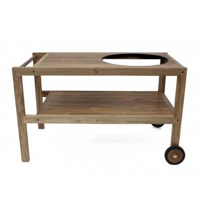 Mobilní stolek (teak)