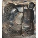 Vířivka Anna – hnědý mramor akrylát i opláštění