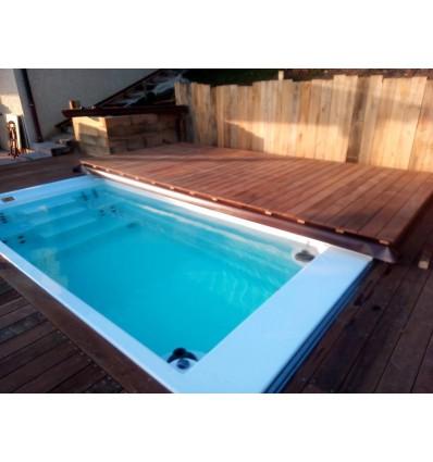 Bazén swim spa s protiproudem - IDOL bazény Jana