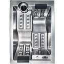 Sofi - Výprodej vystavené vířivky stříbrná - Balboa TP600
