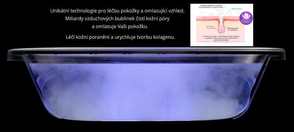 microsilk omlazující systém pro vířivky s swim spa léčba exémů