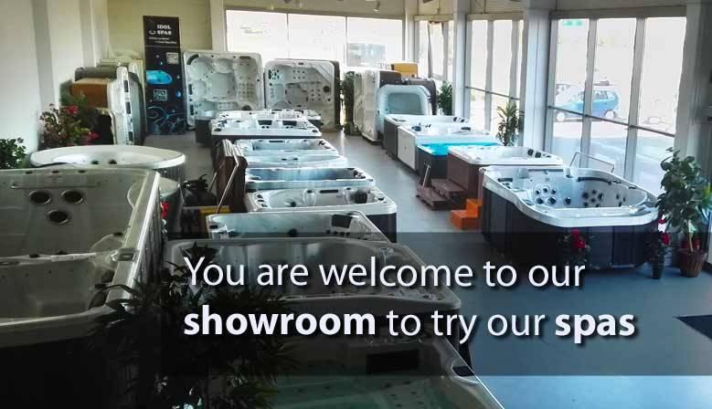 vířivky v největším showroomu